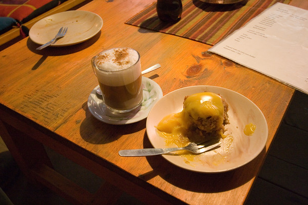 The best apple crumble with custard i have ever had: the Dutch Bakery at Tukuche. OMFG. not to mention the first real cappuccino since Kathmandu.