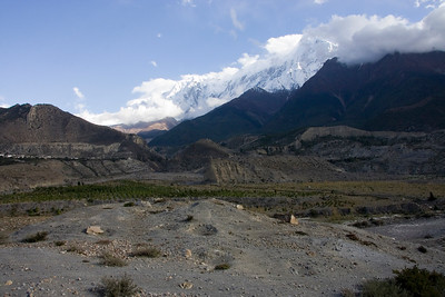 The Nilgiri Himal to the west of the Kali Gandaki river