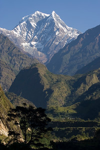 Mountain view from Tatopani