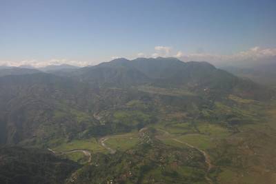 Descending to Kathmandu Valley