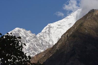 Mountains over Khobung