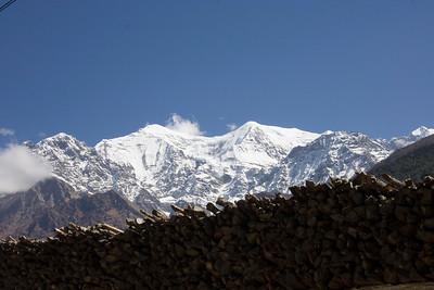 Mountains over Tukuche
