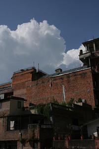 Kathmandu skies, from the Thamel