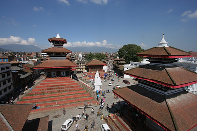 Overview of Durbar Square, Kathmandu
