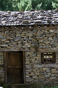 a typical stone house