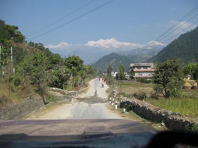 On the way to Khudi.