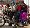 Uneasy riders 1: Pashupatinath, Nepal, December 2007