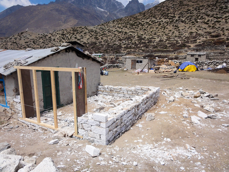 New Construction in Dingboche, Nepal