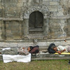 Sleeping travellers - pilgrims? - at Pashupatinath