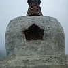 Everest 50th anniversary chorten, a memorial to Norgay Tenzing, on the path above Namche Bazar