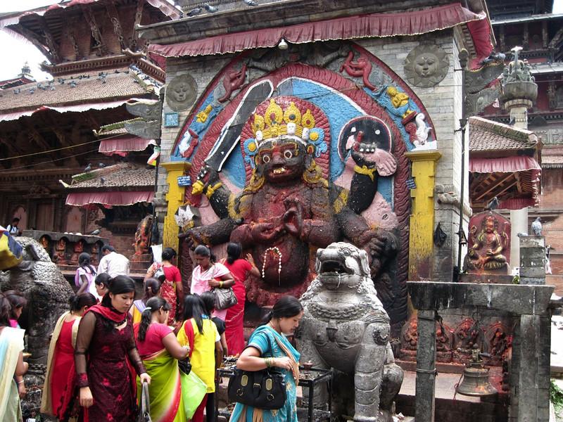 Shrine at Swayambunath.