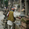 Worshippers at Pashupatinath