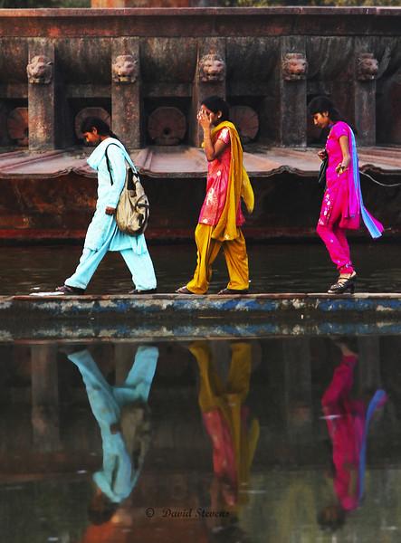 3 girls reflections