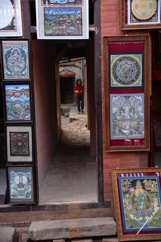 46 Tonka paintings, alley