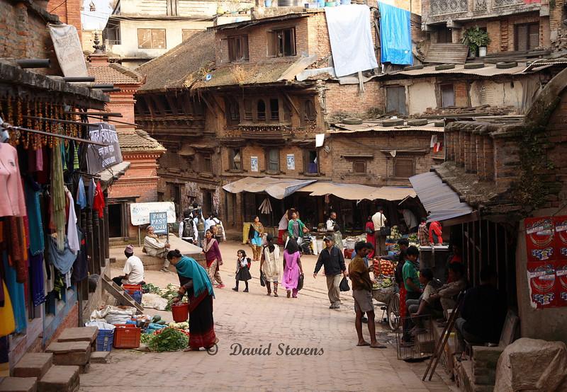 47 Street life, Bhaktapur, Nepal