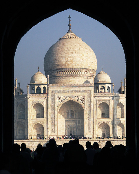 Taj through Arch