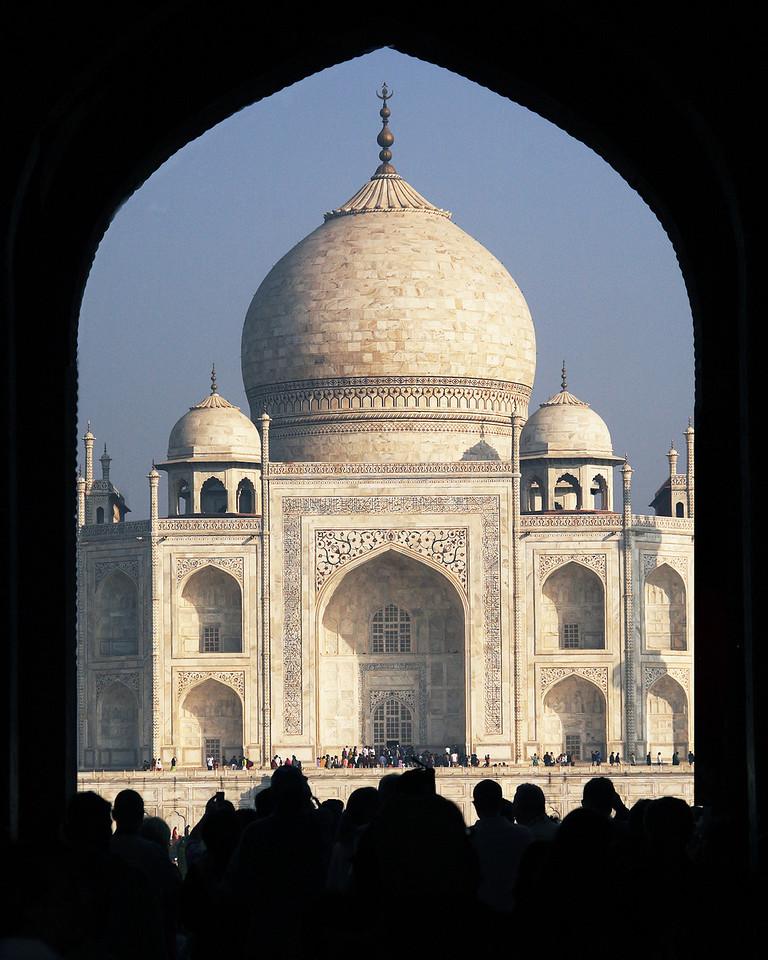 Taj through Arch