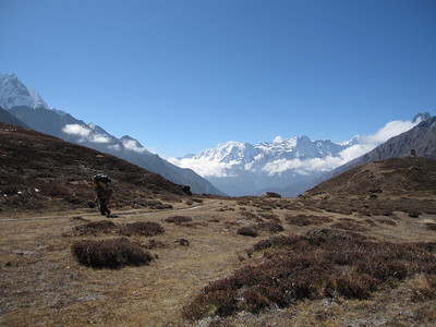 the last flat before reach base camp