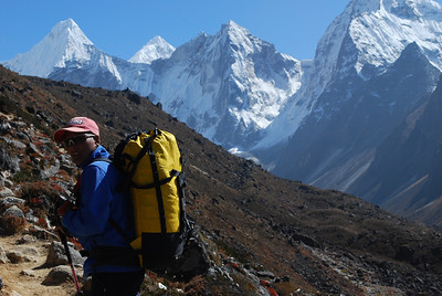 Pemba.  He has been summit ama dablam at lease 3 times, and going to push his 4th bid with Nov team very soon... wish you all the best Pemba !