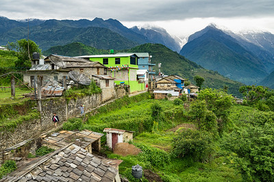 View of Ghandruk village