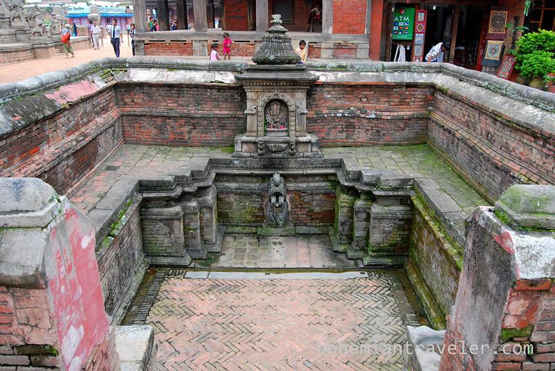 at Bhaktapur Durbar Square.
