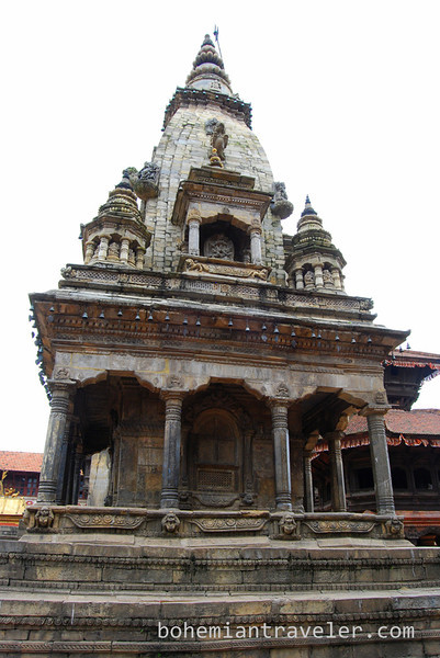 at Bhaktapur Durbar Square.