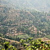 Views of countryside between Chitwan and Kathmandu.