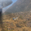 Just before landing in Lukla.
