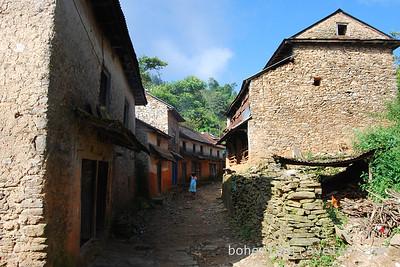 A village along the Helambu Trek.