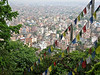 Views over kathmandu from the temple