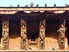 Carved roofstruts, Kathmandu