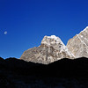Morning on the way to Everest Base Camp.