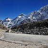 Returning from Everest Base Camp.