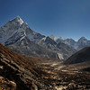 The Khumbu valley looking towards Periche.