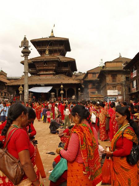 Women festival in Bhaktapur