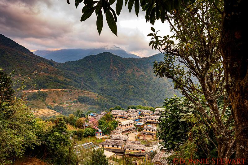 Village houses in Ghandruk