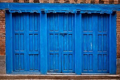 Blue (Facade, Nepal)