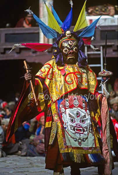 Mani Rimdu Buddhist Festival, Tengboche Monastery, Nepal, Asia