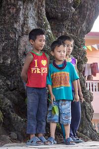 Three at the Tree