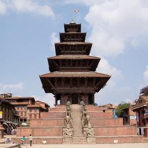 Nyatapola Temple at Bhaktapur