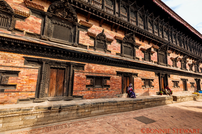 View of the temple in Bhaktapur