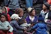 Women and Children Sherpas at Mani Rimdu Buddhist Festival, Tengboche, Khumdu Region, Nepal,
