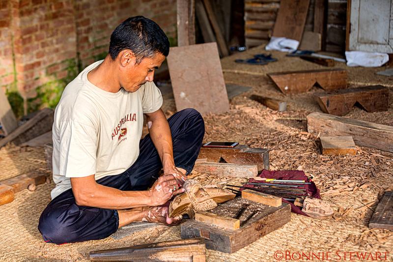 Artisan carving
