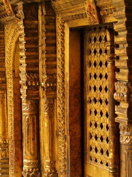Golden door in Changu Narayan