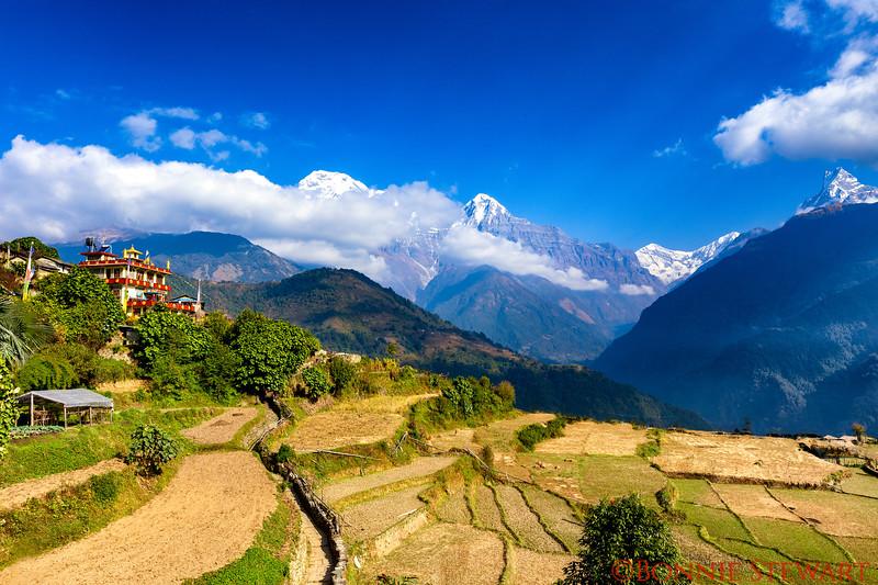 Ghandruk village view