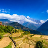 Ghandruk village view