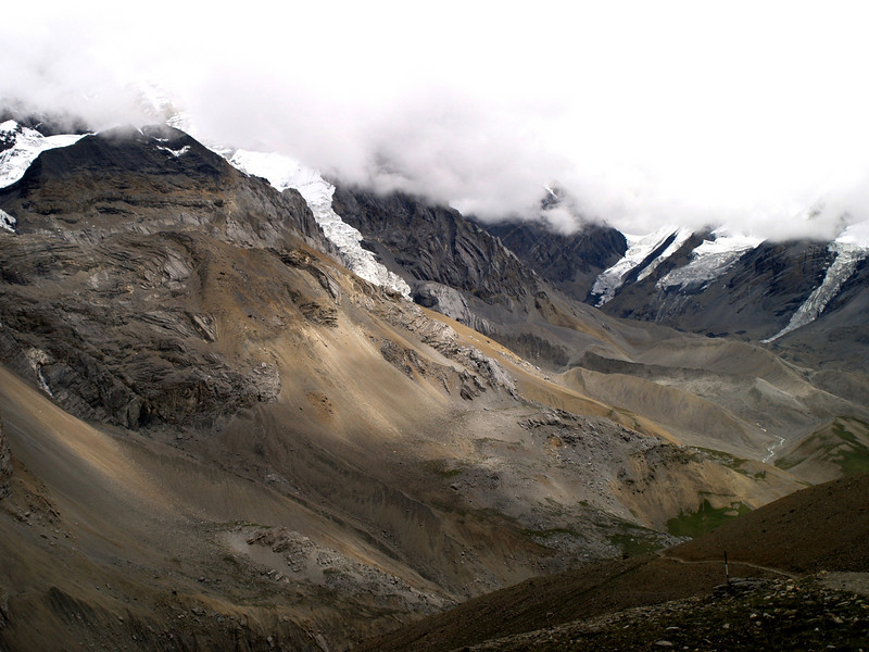 Thorung-La pass in the Annapurnas trek.