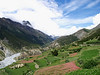 Landscape in Manang (Annapurnas trek)
