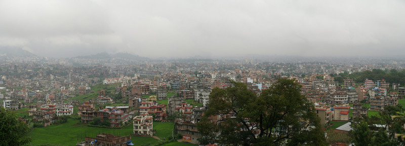 Panorama of Katmandu