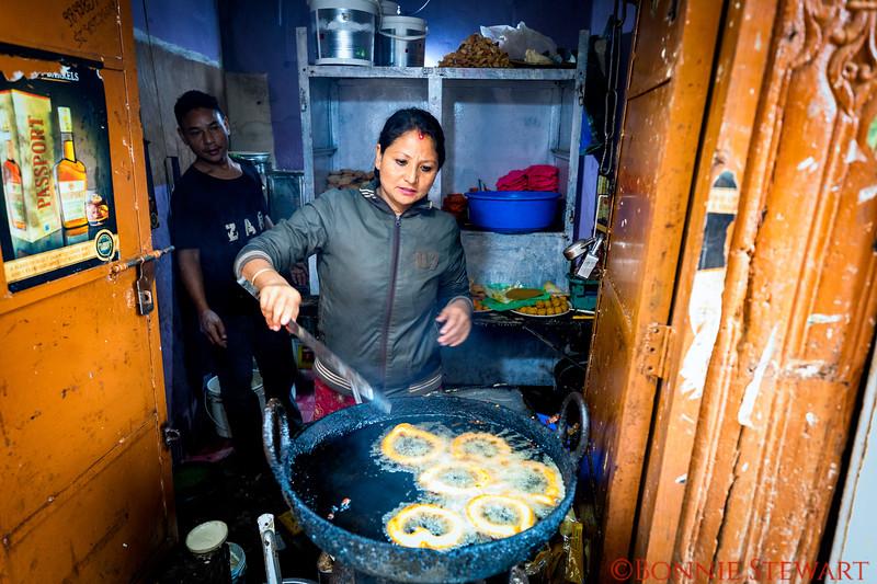 Vendor in Bhaktapur Market